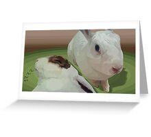 Sweet Bunnies Greeting Card