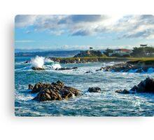 Storm Surge, Pacific Grove, CA Canvas Print