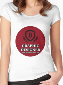 MBP GRAPHICS Women's Fitted Scoop T-Shirt