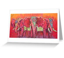 The Universal Indian Elephants, #69 Greeting Card