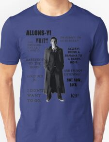Best of the 10th Doctor T-Shirt