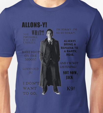 Best of the 10th Doctor Unisex T-Shirt
