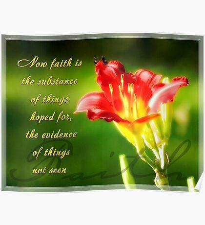 Faith is Poster