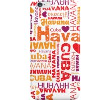 Havana, Cuba - Showing The Love iPhone Case/Skin