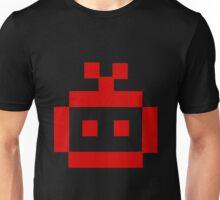 8 Bit Head Unisex T-Shirt