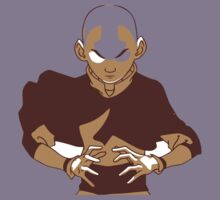 Minimalist Aang from Avatar the Last Airbender Kids Clothes