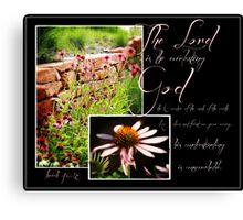 Everlasting God Canvas Print