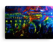GOOD BUY FERRY - OIL, CANVAS 36 X 48'' Canvas Print