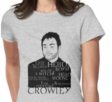 Crowley, the KING Womens Fitted T-Shirt