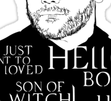 Crowley, the KING Sticker