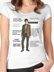 The Best of the 11th Doctor Women's Fitted Scoop T-Shirt