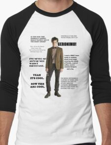 The Best of the 11th Doctor Men's Baseball ¾ T-Shirt