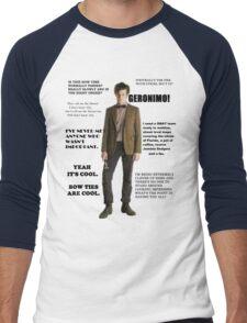 The Best of the 11th Doctor Men's Baseball ¾ T-Shirt