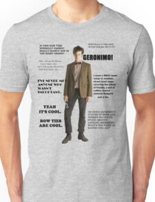 The Best of the 11th Doctor Unisex T-Shirt