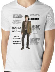 The Best of the 11th Doctor Mens V-Neck T-Shirt