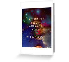 Fearless Stars Greeting Card