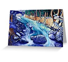 "'The Beauty of the Hour""  (Coldwater river, B.C.) Greeting Card"