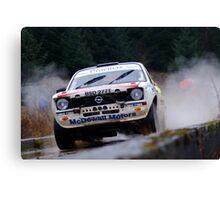 Opel Rally car Canvas Print