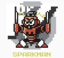 Spark Man with Yellow Text Kids Clothes