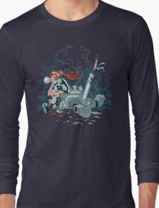 Cyberpunk Beatdown Long Sleeve T-Shirt