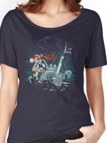 Cyberpunk Beatdown Women's Relaxed Fit T-Shirt