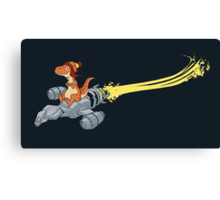 Fireflying Canvas Print