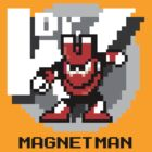 Magnet Man with Black Text by Funkymunkey