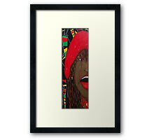 Tongue and Groove Framed Print