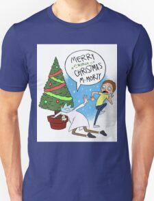 Rick and Morty Christmas Unisex T-Shirt