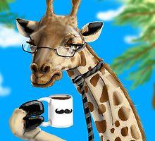 All Business Giraffe by theawkwardyeti