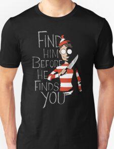 Hiding in the Dark Unisex T-Shirt