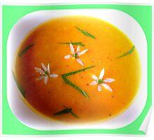 Carrot & Ginger Soup Poster