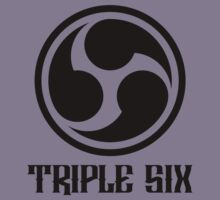 666 Triple Six + Font (black) by MysticIsland