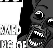 The Bat Man Sticker