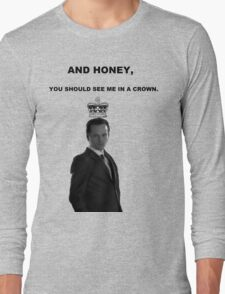Moriarty's Crown Long Sleeve T-Shirt