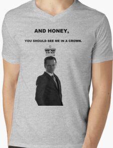 Moriarty's Crown Mens V-Neck T-Shirt