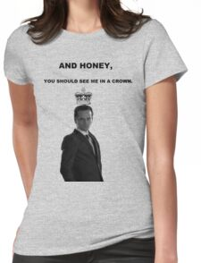 Moriarty's Crown Womens Fitted T-Shirt