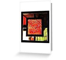 Fractal Abstract. Greeting Card