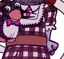 Mr Flibble's Very Cross Sticker