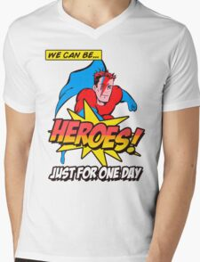 Heroes Mens V-Neck T-Shirt