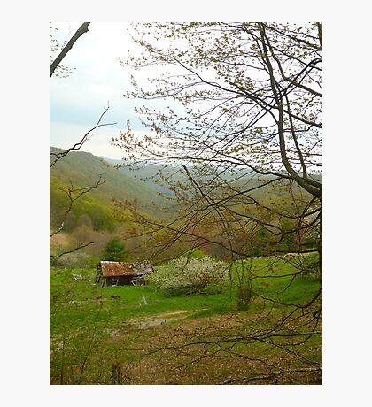Old Mountain Farm Photographic Print