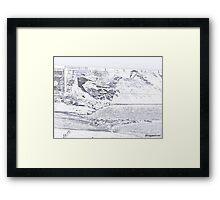 Artistic Pueblo Colorado Framed Print