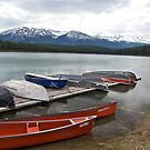 By the Lake, Jasper Alberta  by Jessica Karran