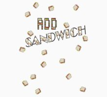 "ADD Sandwich ""Falling Sandwiches!!!"" Kids Tee"