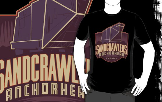 Anchorhead Sandcrawlers by Blueswade