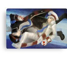 Pokemon Subway Masters Canvas Print