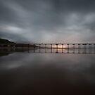Saltburn - Stormy Sunset by PaulBradley