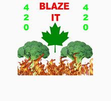 420 BLAZE IT-CANADIAN VEGAN EDITION! Unisex T-Shirt