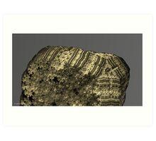 berber inscription # 7 Art Print