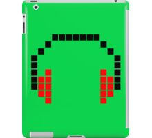 8 Bit Headphones; Pixel Headphones iPad Case/Skin